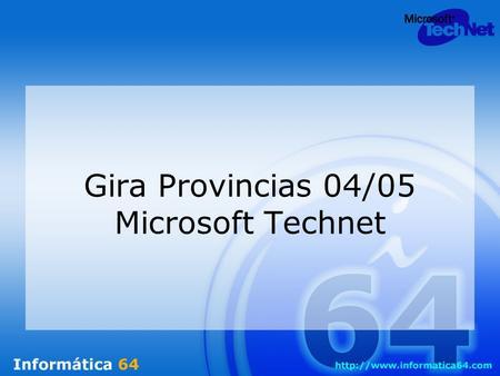 Gira Provincias 04/05 Microsoft Technet Agenda Técnicas de envenenamiento en redes de datos. –Spoofing ARP –DNS Hijacking –Phising –Mail Spoofing Contramedidas.