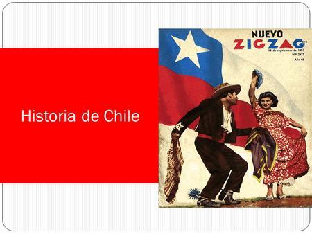 Historia de Chile.