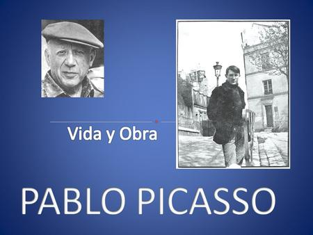 Nace en Málaga en 1881. Su nombre completo es Pablo Diego José Francisco de Paula Juan Nepomuceno Crispín María de los Remedios y Crispiniano de la.