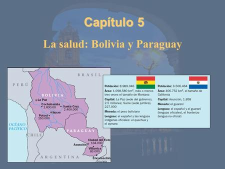 Capítulo 5 La salud: Bolivia y Paraguay. Vocabulario: El cuerpo humano.