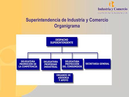 Superintendencia de Industria y Comercio Organigrama.