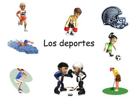 Los deportes. el (la) jugador(a) de fútbol el balón.
